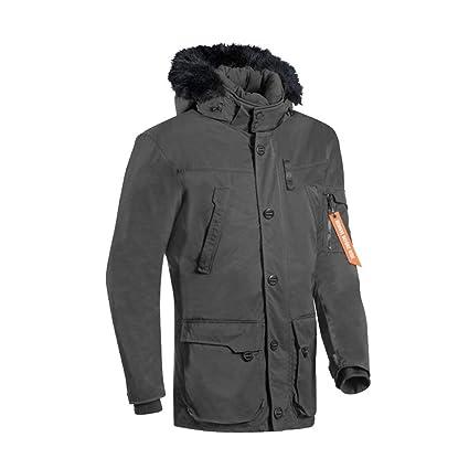 Ixon Ontario chaqueta moto, Negro antracita, S: Amazon.es ...