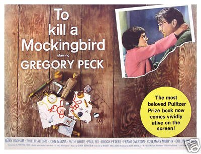 To Kill A Mockingbird Movie Poster - Gregory Peck II