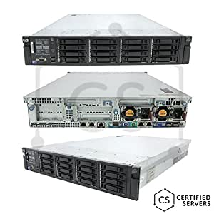 High-End Virtualization Server 12-Core 144GB RAM 1.92TB RAID SSD HP ProLiant DL380 G7