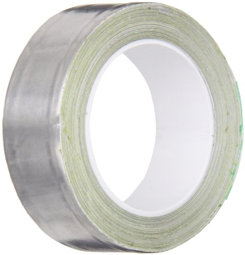 (3M 420 Dark Silver Lead Foil Tape Roll - 0.75 in. x 15 ft. Conformable Tape, Rubber Adhesive. Safety Tapes)