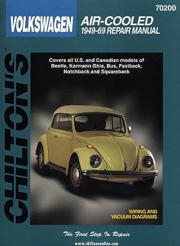 volkswagen air cooled 1949 69 chilton total car care series rh amazon com 1996 VW Beetle 2017 VW Beetle