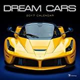 TF Publishing 2017 Monthly Wall Calendar - Dream Cars