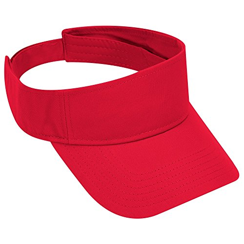 Otto 60-662-002 Red-CT Sun Visor - Malls Shopping Ct