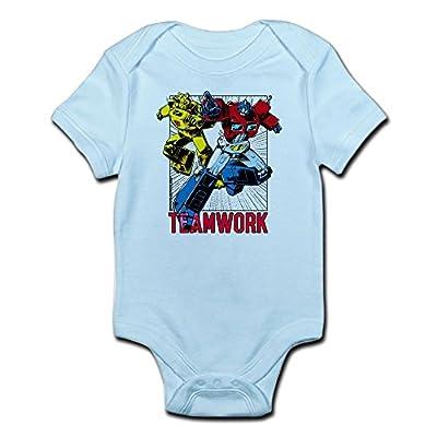 CafePress Transformers Teamwork Infant Bodysuit - Cute Infant Bodysuit Baby Romper