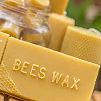 ANP BEE Pure Unrefined Beeswax,Triple Filtered highest grade 400 gms