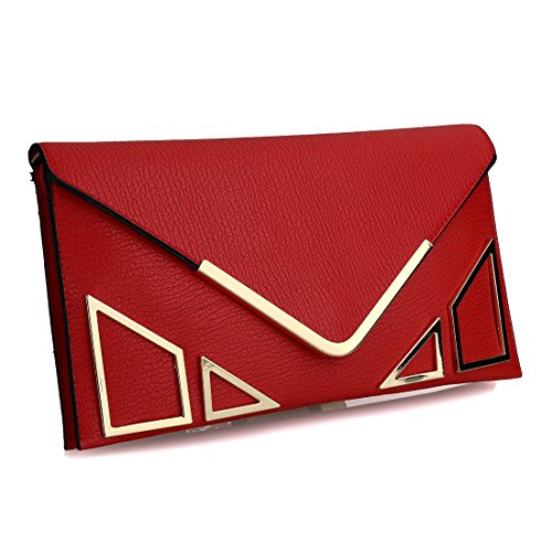 SSMK Bag Evening red pour femme Pochette rUrwWHq1A