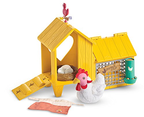 American Girl Welliewishers Chicken & COOP Doll -