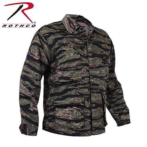 Rothco BDU Shirt, Tiger Stripe, - Tiger Stripe Bdu Shirt