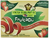Stretch Island Fruitabu Rolls, Strawberry Rolls 4.4 Ounce (Pack of 6)