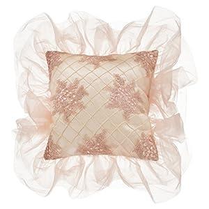 Glenna Jean Remember My Love Pillow, Cream Pintuck