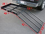 Folding Strong Electric Wheelchair Hitch Carrier Mobility...
