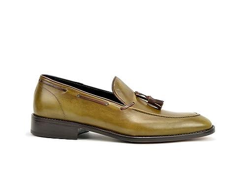 DIS 220000020205XX_0F0DB2 - Mocasines de Piel Para Hombre: Amazon.es: Zapatos y complementos