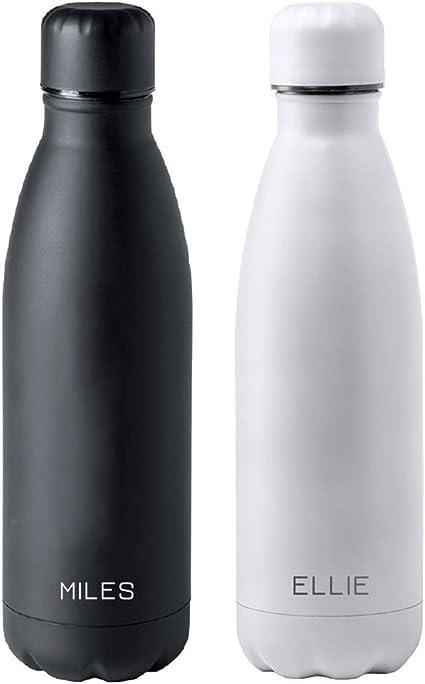 regalo grabado Botella de Agua 790 ml Personalizada con Texto