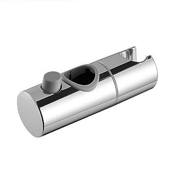 Soporte universal de Variosan para barras de ducha cromo