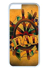 iPhone 6 Cases & Covers - Dad Polycarbonate Hard Case Back Cover for iphone 6 4.7 inch White