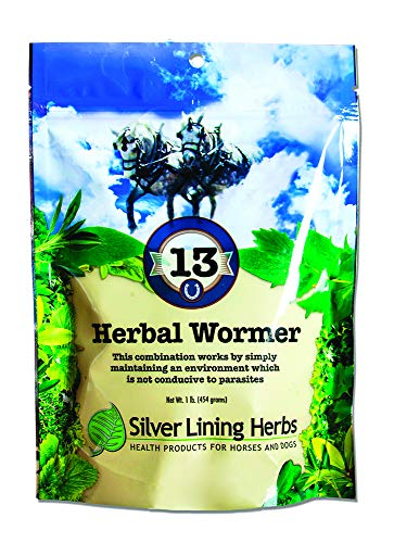 Silver Lining Herbs - Silver Lining Herbs Natural Herbal Horse Wormer   Natural Herbs in a Proprietary Blend That Help Repel, Expel and Maintain a Horses System Worm and Parasite-Free   1Pound ReSealable Bag   Made in USA