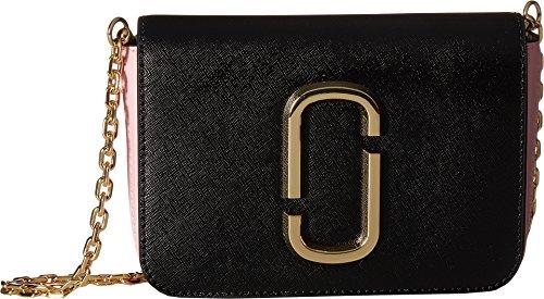 Marc Jacobs Women's Hip Shot Convertible Belt Bag, Black/Baby Pink, One - Women Bags Jacobs Marc