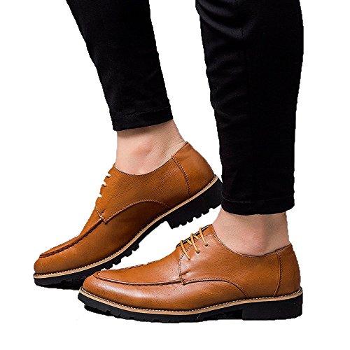 Zapatos Brown Ponibles Diarios Zapatos Casuales Y Moda De Koyi Cómodos Antideslizantes Versátiles Nuevos Hombres para 5SaaPxfq6