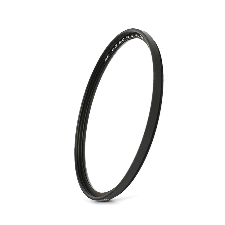 Size : 55mm Wangclj Filter Lens Ultra-Thin HD Multi-Layer Coating Hood Rubber Lens UV Filter