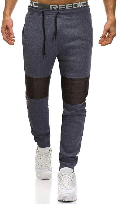 Pantalones de Chándal Moda Impresos Jogging Casual Pantalón ...