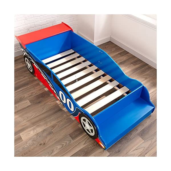 Race Car Toddler Bed 5