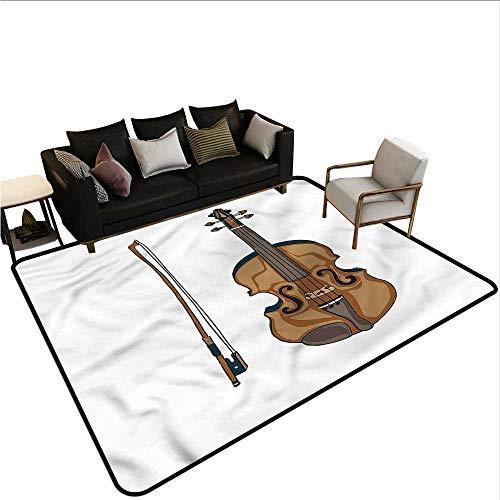 Violin,Non-Slip Bath Hotel Mats 48