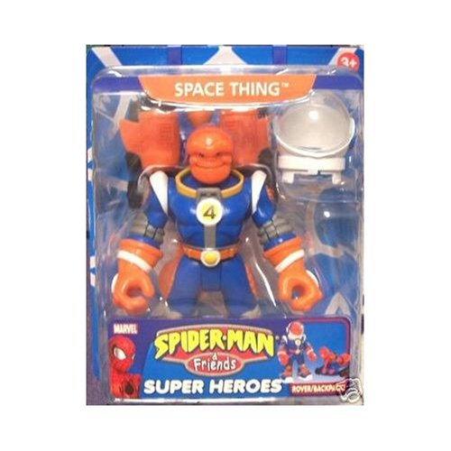 Space Thing Spiderman and & Friends Marvel Super Heroes (Thing Superhero)