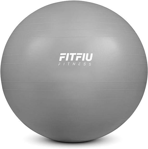 FITFIU Fitness FITBALL-75 - Pelota Fitness 75cm antipinchazos ...