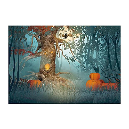 (Amazingdeal 5D Full Drill Diamond DIY Halloween Painting for Home Decor)