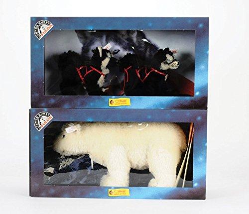 (Steiff 2000 Limited Edition Husky Set with Polar Bear 038631)