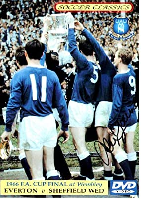 Everton FC 1966 FA Cup Winners Football Trading Cards