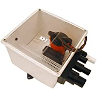 Johnson Pump 1000 GPH Multi Port Shower Pump 12V w/Switch