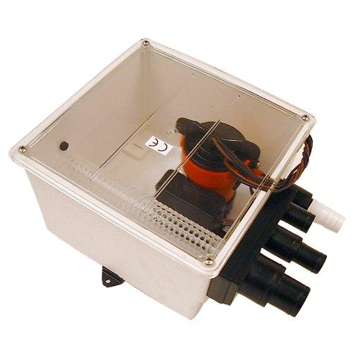 Johnson 12V 1000 GPH Multi Port Shower Pump with Switch