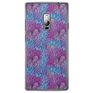 Loud Universe OnePlus 2 Hair Hair 5 Printed Transparent Edge Case - Multi Color