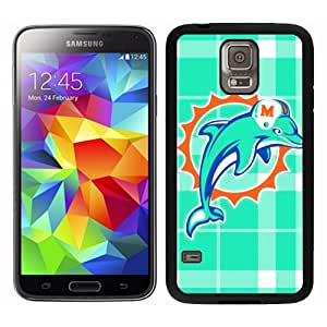 NFL Samsung Galaxy S5 Case, Miami Dolphins Samsung S5 Rugged Case, Fanatics Sport Fan Galaxy S5 Covers, NFL Miami Dolphins Funky Samsung Galaxy S5 Case