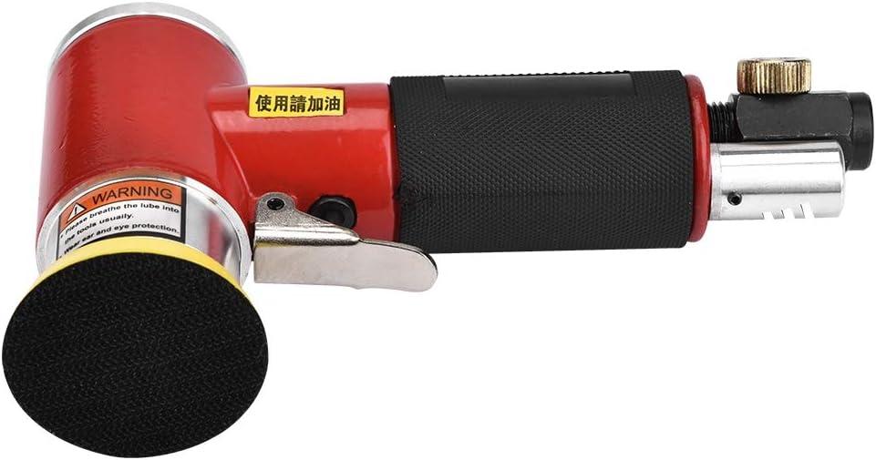 Akozon Ponceuse pneumatique /à air excentrique avec tampon abrasif 2//3