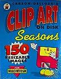 Carson-Dellosa's Clip Art On Disk, Seasons, No. CD-6750 for Macintosh