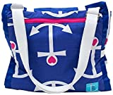 Palm Beach Crew Brilliant Blanket and Wet Bag Cabana Collection, Anchor Love