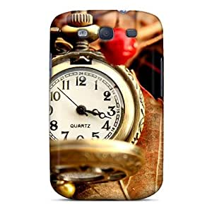 Faddish Phone Beautiful Vintage Watch Case For Galaxy S3 / Perfect Case Cover