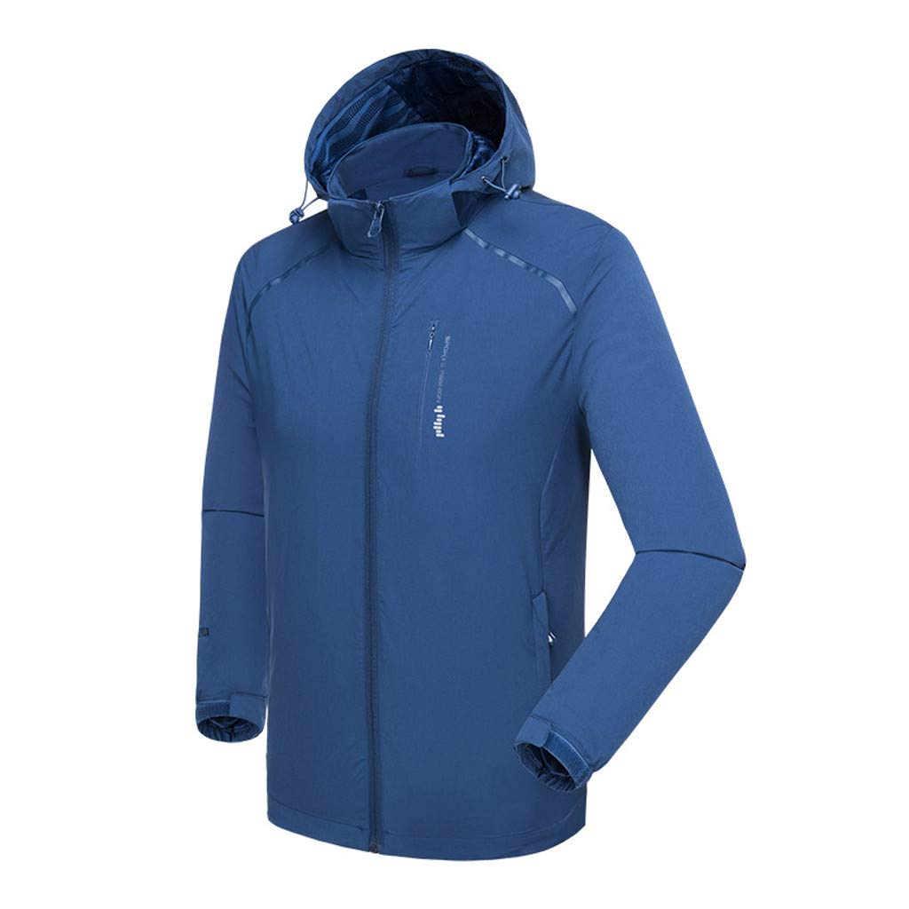 FIN86 Mens Autumn Casual Fashion Waterproof Quick-Drying Breathable Sport Outdoor Coat by FIN86