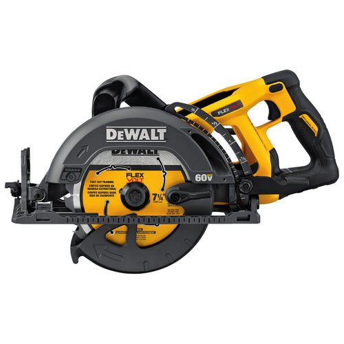 "Best Review Of DEWALT DCS577B  FLEXVOLT 60V MAX 7-1/4"" Worm Drive Style Saw, Baretool"