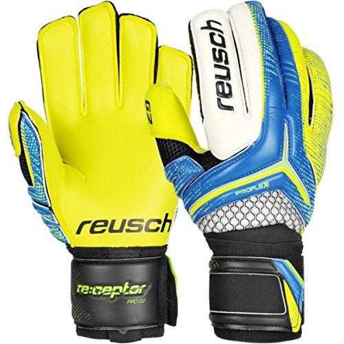 Reusch Soccer Receptor Pro G2 Goalkeeper Glove, 8, Pair