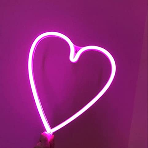 Yrled waterproof heart shape led wall light decorative wall yrled waterproof heart shape led wall light decorative wall hanging lamps night light color pink mozeypictures Images