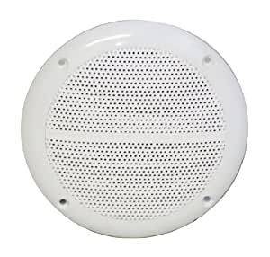 Electrovision White High Quality 4Ohms 50 Watt Moisture Resistant Speakers B302A
