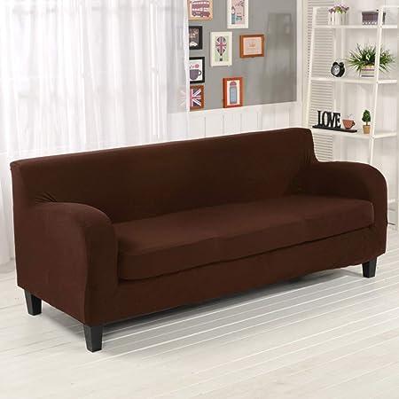 WENROUMIAO-SFJ Tramo Alto Funda para sofá, Sala de Estar ...
