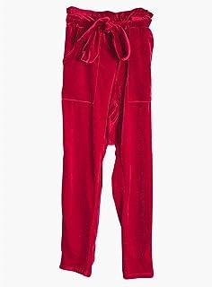 AKDYH Pantaloni da Donna Pantaloni A Vita Alta Pantaloni Donna Autunno Autunno Femme Pantaloni Caldi