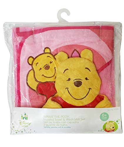 Pooh Bear Hooded Towel Gift Set