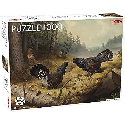 Tactic 55245 Fighting Capercailles Puzzle Da 1000 Pezzi Multicolore