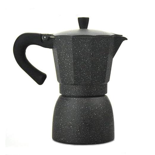 Lee&Jim Cafetera Espresso de 6 Tazas, Cafetera Italiana de ...