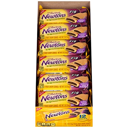 Newtons Fig Fruit Chewy Cookies Snack Packs, 12 Count
